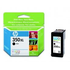HP 350XL - černá inkoustová kazeta, CB336EE
