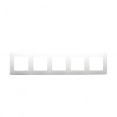 Niloé rámeček 5-násobný bílá