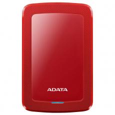 externí disk ADATA HV300 1TB HDD USB 3.1 červený