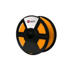 Tisková struna (filament) C-TECH, PLA, 1,75mm, 1kg, oranžová