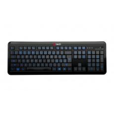 C-TECH OBK-04 kan. podsvícená klávesnice USB CZ/SK