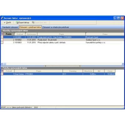 SW Money 2EDI, výměnu dat ve formátu EDI