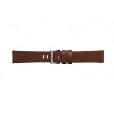 Samsung Braloba Essex kožený řemínek Galaxy Watch 20mm, Brown