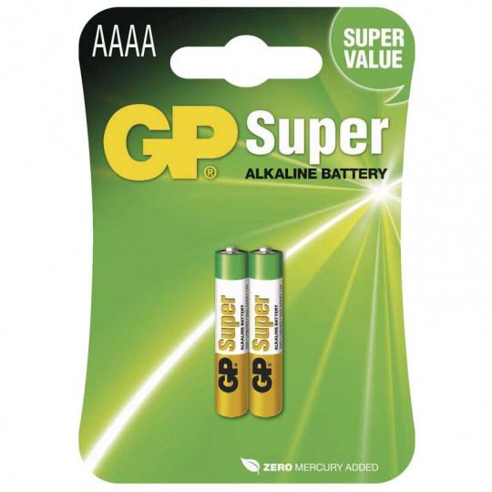 GP 25A, LR61, 2ks, alkalická baterie