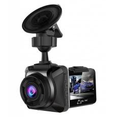 kamera do auta CEL-TEC E04, autokamera, palubní záznamová kamera, černá