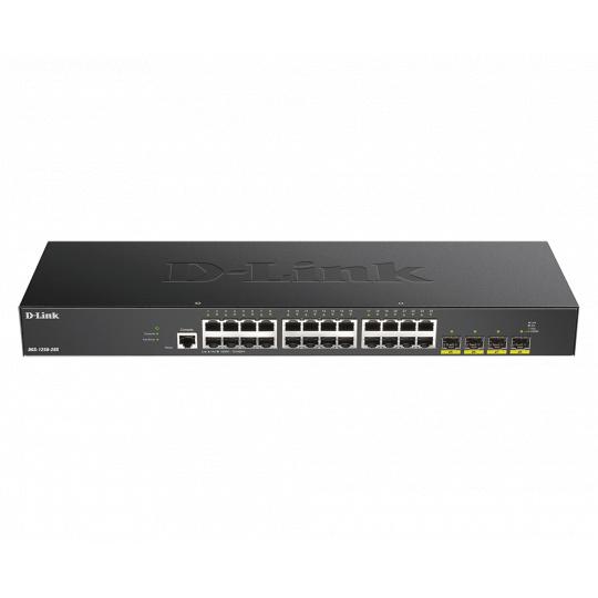 D-Link DGS-1250-28X Smart switch 24x Gb, 4x 1G/10G SFP+