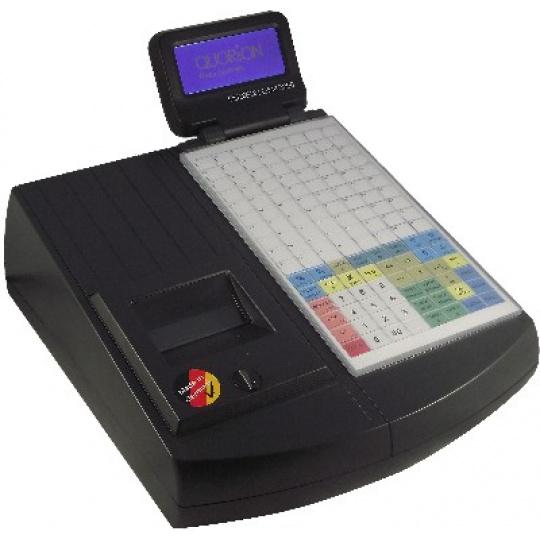Registrační pokladna (EET CZ) QMP 2244 2XRS/USB/OL/LCK černá + EET box
