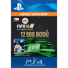 ESD CZ PS4 - 12000 FIFA 18 Points Pack