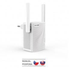 Tenda A301 - WiFi N Range Extender, opakovač 300 Mb/s, WPS, 1x LAN 100 Mb/s, 2x 3 dBi anténa