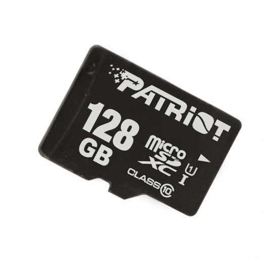 PATRIOT 128GB microSDXC CL10 UHS-I 90/20