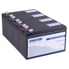 Bateriový kit AVACOM AVA-RBC116-KIT náhrada pro renovaci RBC116 - baterie pro UPS (4ks baterií)