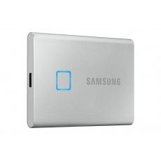 SSD 2TB Samsung externí T7 Touch, stříbrný