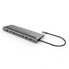 i-tec USB-C Metal Low Profile 4K Triple Display Docking Station, Power Delivery 85W