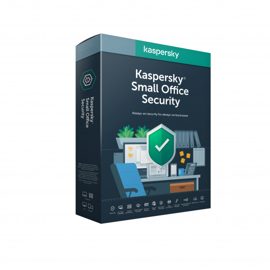 Kaspersky Small Office 20-24 licencí  3 roky Obnova