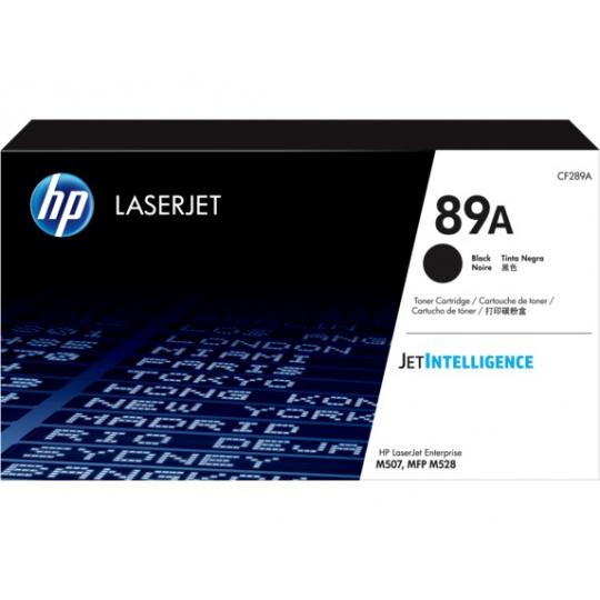 HP 89A Black LaserJet Toner, CF289A