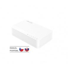 Tenda S105 5 x 10/100 Mb/s Mini Eco Switch, Desktop, Auto MDI/MDIX, do 1,5 Watt, fanless
