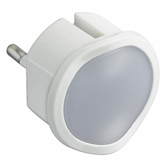 LED světlo noční do zásuvky bílé