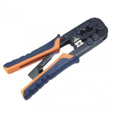 DATACOM Konektorovací nástroj 6P+8P račna - rukojeť OR/BL