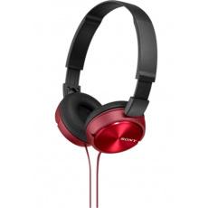 SONY sluchátka MDR-ZX310 červené