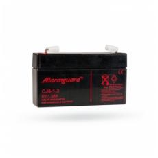 Bezúdržbový akumulátor Alarmguard 6V - 1.3 Ah