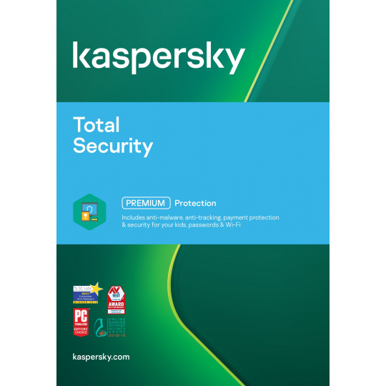 Kaspersky Total Security 3x 1 rok Obnova