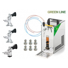 PYGMY 20/K Green Line + 3x naražeč (Bajonet, Plochý a Kombi)