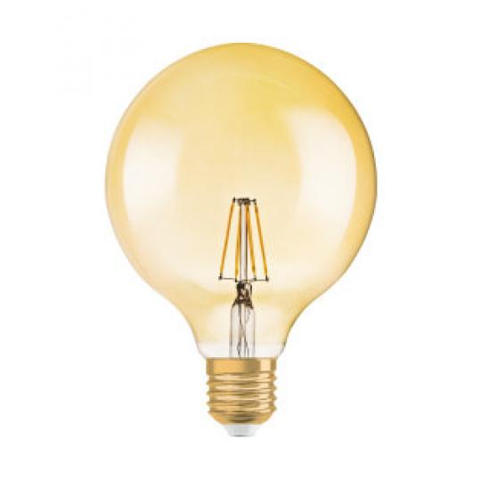 Osram 1906 LED GLOBE 6,5W/824 230V FILGDE 27FS1
