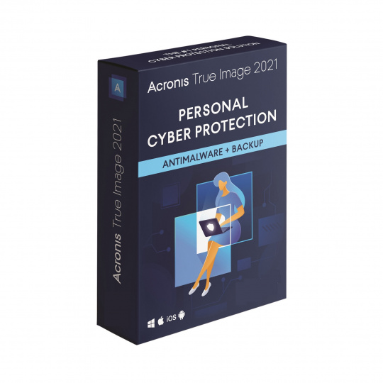Acronis True Image Advanced Protection Subscription 5 Computers + 250 GB Acronis Cloud Storage 1Y