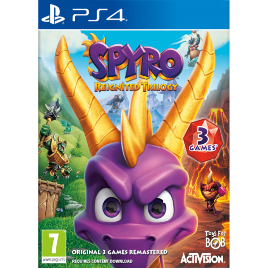PS4 - Spyro Trilogy Reignited