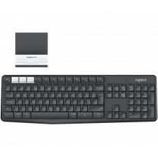 Logitech Kl. Logitech Wireless Keyboard K375s CZ