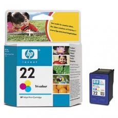 HP no. 22 - 3barevná ink. kazeta, C9352AE