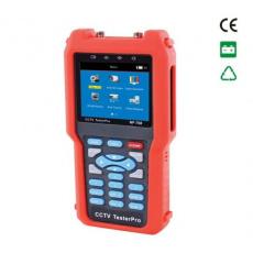 Tester video signálu analogových a AHD a IP kamer, typ 708 display