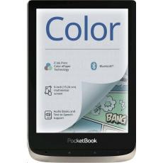 E-book POCKETBOOK 633 Color, Moon Silver
