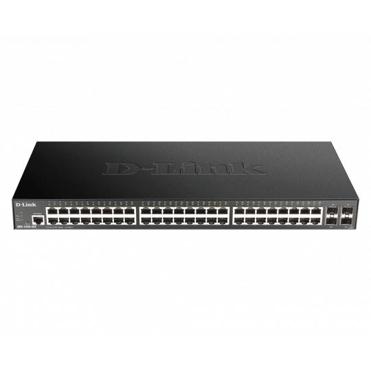 D-Link DGS-1250-52X 48-port Gigabit Smart Managed Switch with 4x 10G SFP+ ports