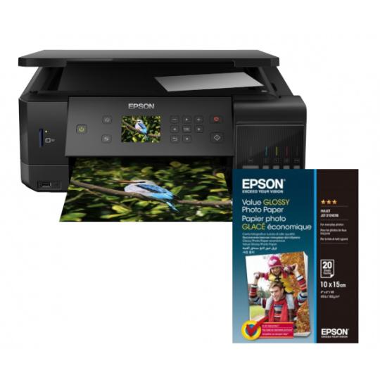 Epson L7160 + 100x Fotopapír