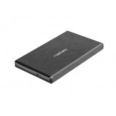 """Externí box pro HDD 2,5"""" USB 2.0 Natec Rhino, černý"""