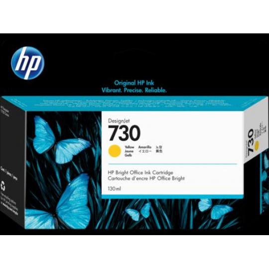 HP 730 130-ml Yellow Ink Cartridge