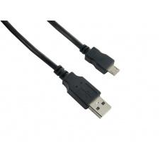 4World Kabel USB 2.0 AM-Micro BM 0.8m Black