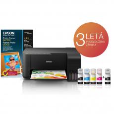 Epson L3150,  EcoTank 3v1, tiskárna, kopírka, skener