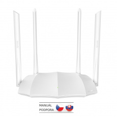 Tenda AC5 WiFi AC Router 1200Mb/s, VPN server/klient, WISP, Universal Repeater, 4x6dBi antény
