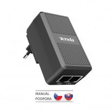 Tenda PoE15F-48V-I Fast Ethernet Power Injector PoE 15.4W, 802.3, 2x LAN 10/100 Mb/s