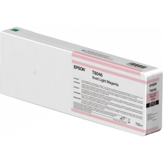 Epson Singlepack Vivid Light Magenta T804600 UltraChrome HDX/HD 700ml