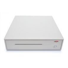 Pokladní zásuvka C420C - s kabelem, 9-24V, béžová