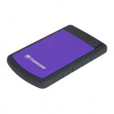"""Externí disk 2,5"""" 2TB Transcend StoreJet TS2TSJ25H3P, USB3.0, fialový, SLIM"""