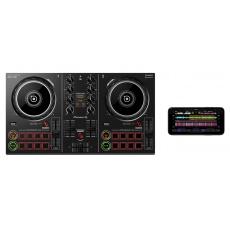 Pioneer DJ DDJ-200 kontrolér iPhone, Android, černý