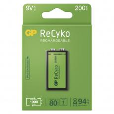GP nabíjecí baterie ReCyko 9V 1PP