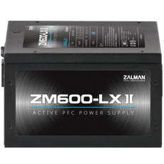 Zdroj Zalman ZM600-LXII 600W eff. 85% ATX12V v2.31 Active PFC 12cm fan