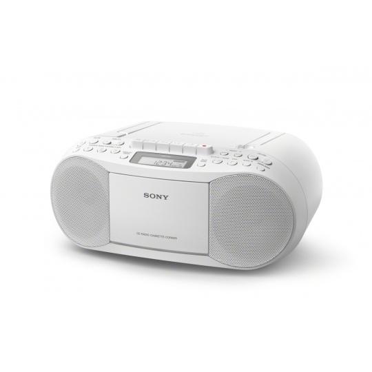 Sony radiomagnetofon s CD přehr. CFD-S70, bílý