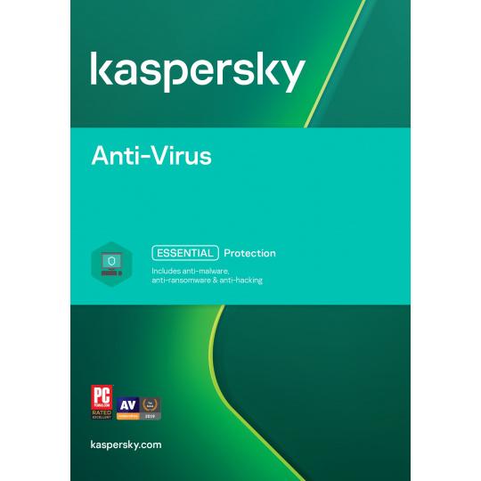 Kaspersky Anti-Virus 5x 1 rok Obnova