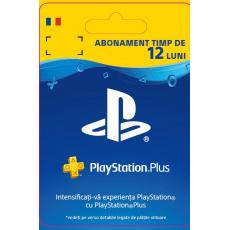 ESD RO - PlayStation® Plus: 12 Month Membership